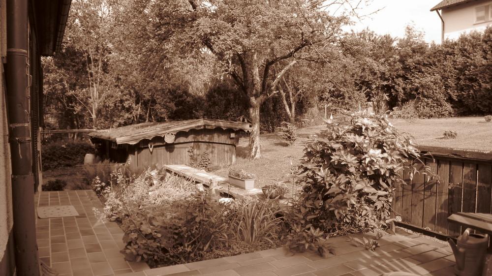 Garten Sepia