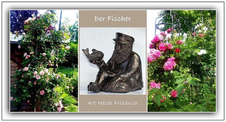 Garten und Plastik :  Heide Friedrich