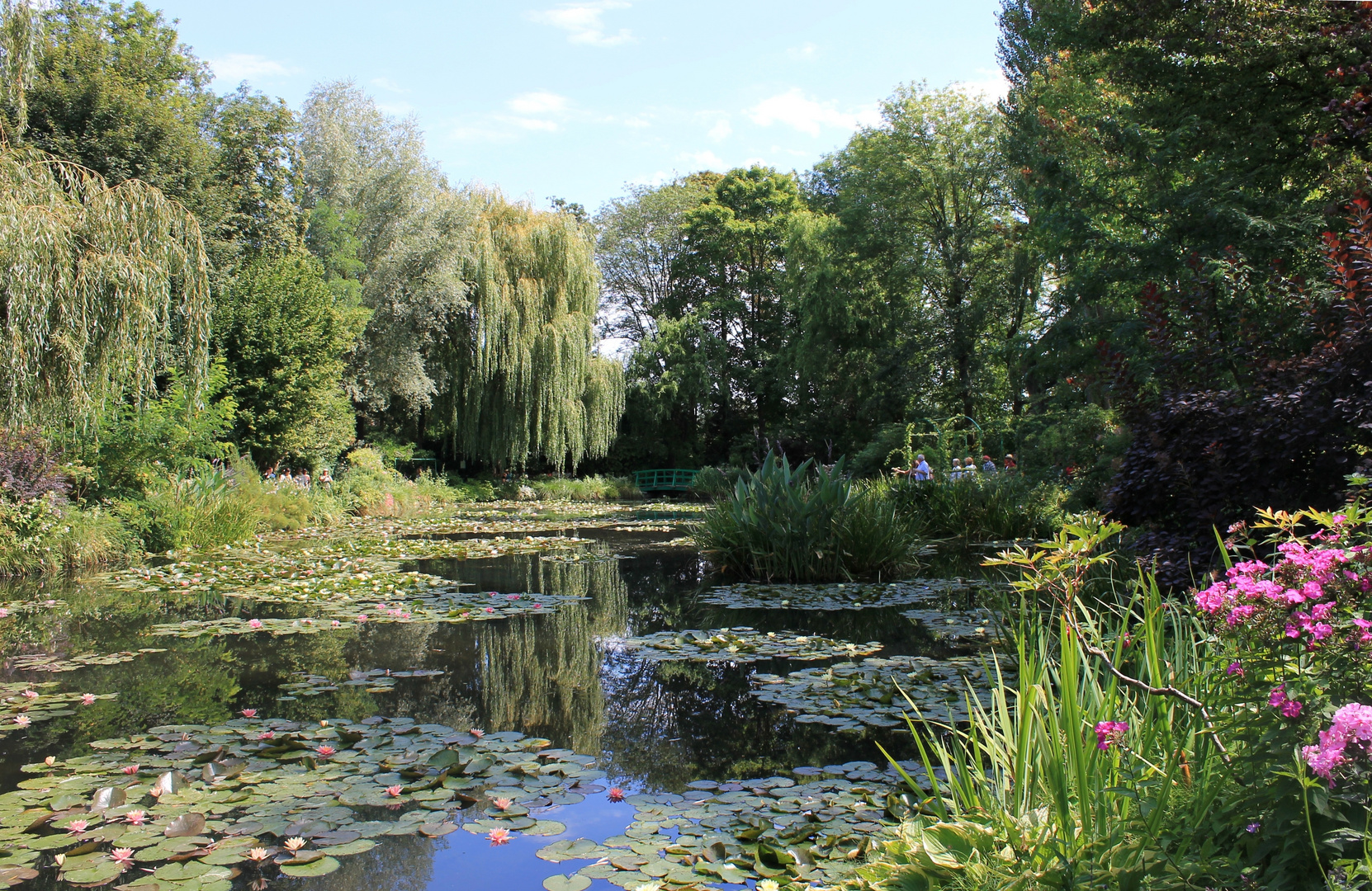 garten von claude monet in giverny normandie foto bild europe france normandie bilder auf. Black Bedroom Furniture Sets. Home Design Ideas