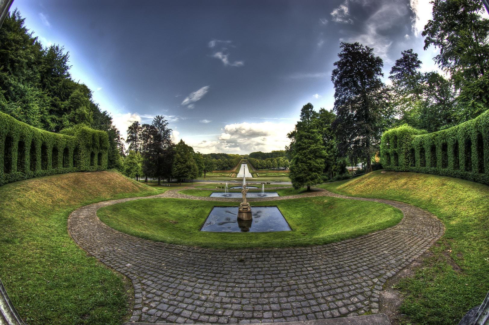 Gartenanlage in Kleve