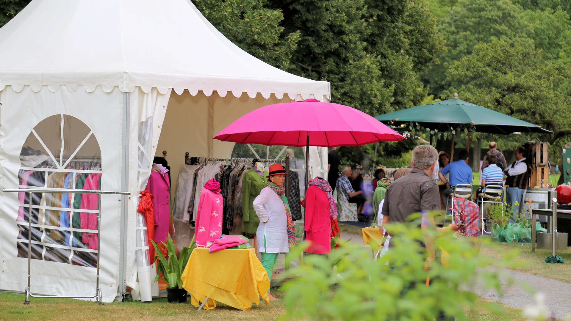 Gartenfest im Schloss Corvey