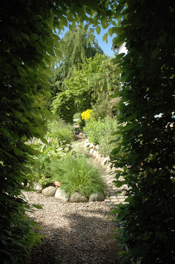Gartengestaltung oder der Versuch des Menschen, sein Paradies zu schaffen