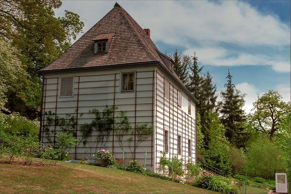 Gartenhaus von Goethe in Weimar