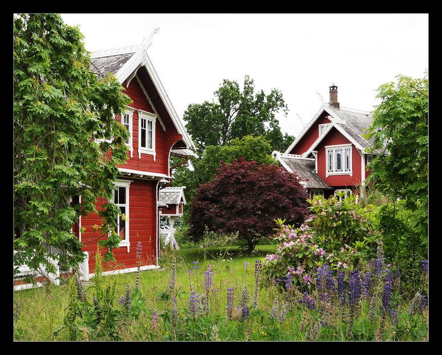 Gartenidylle in Balestrand