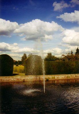 Gartenlandschaft in Kent - England