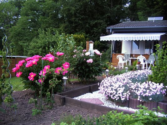 Gartensaison....