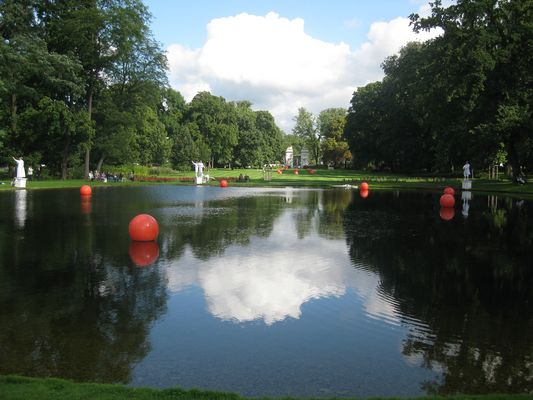 Gartenschau Oranienburg Schwanensee