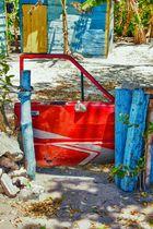 Gartentor ala Karibik
