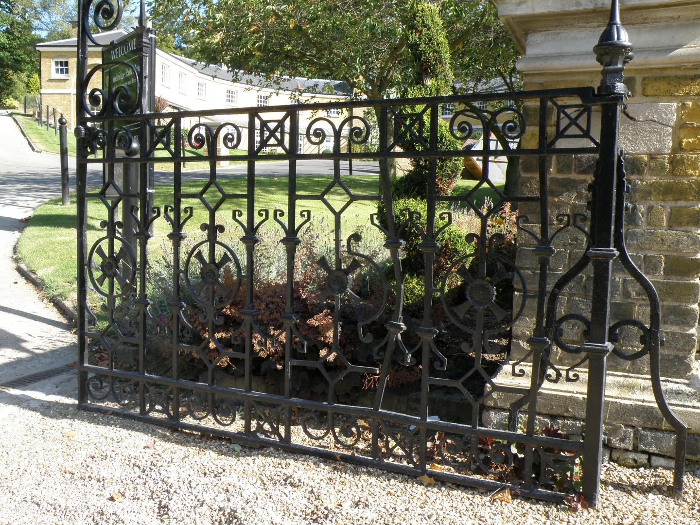 Gartentor in Sundridge Manor
