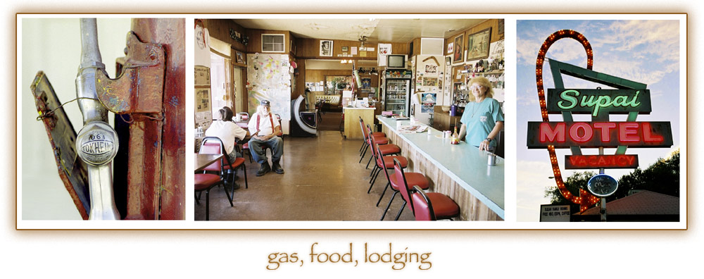 gas, food, lodging - Route 66