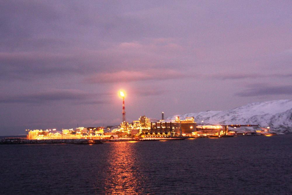 Gasförderung in hohen Norden