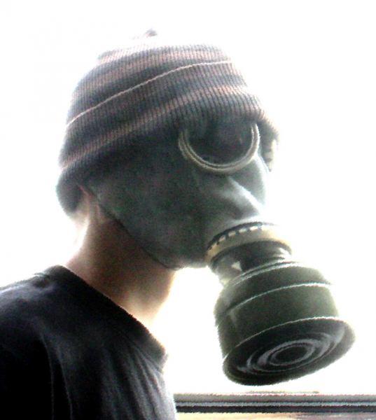 Gasmaske.