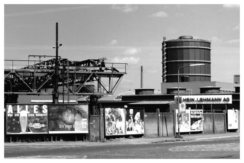 """Gasometer (Düsseldorf """"historisch"""", 2)"""