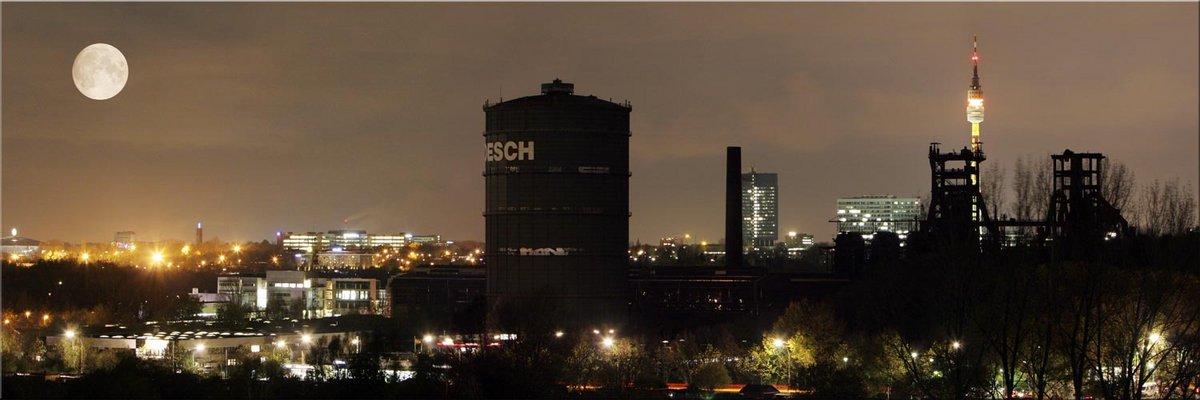 Gasometer Hoesch in Dortmund Hörde