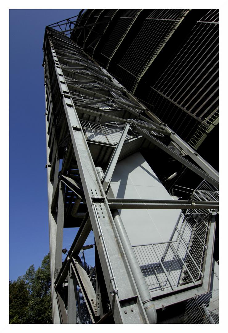 Gasometer , Oberhausen , mit Christo...8