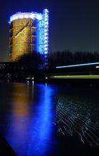 Gasometer Oberhausen@Night
