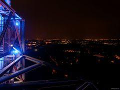 Gasometer Richtung Duisburg