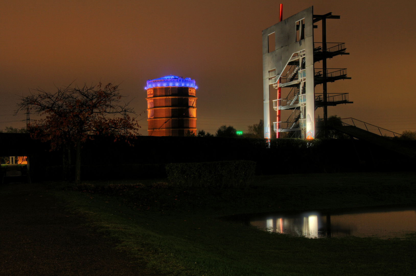 Gasometer und Olgapark