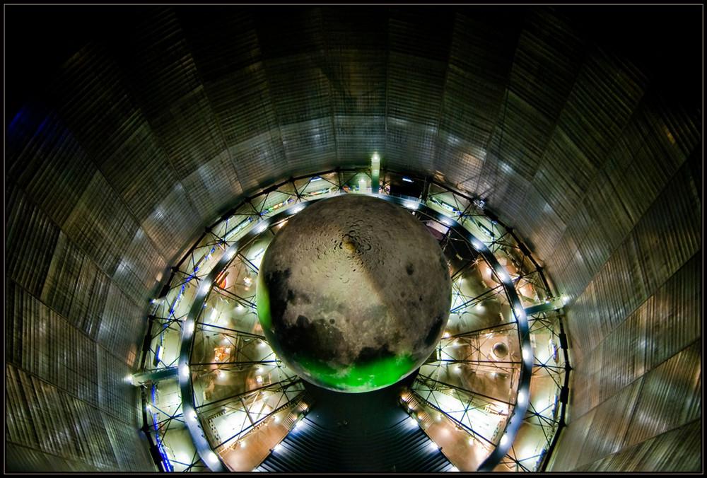 Gasometer von oben