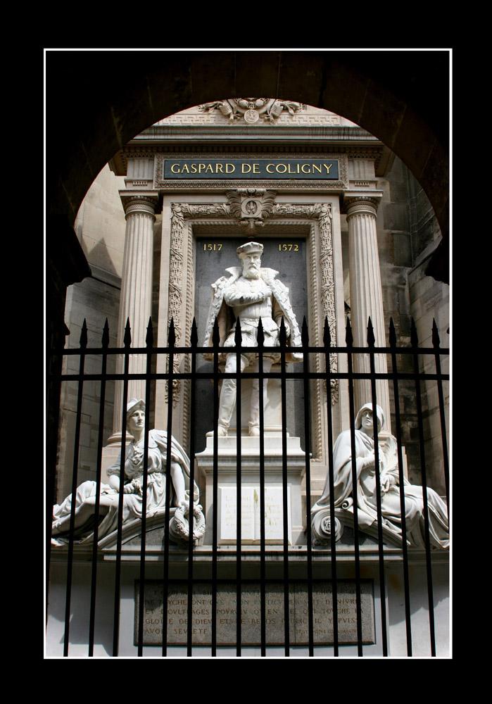 Gaspard de Coligny in Paris