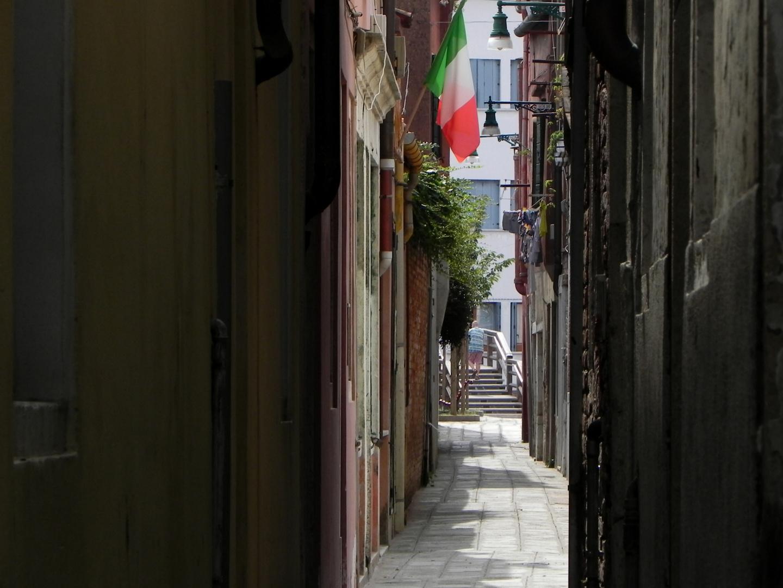 "Gasse auf ""La Giudecca"" (1)"