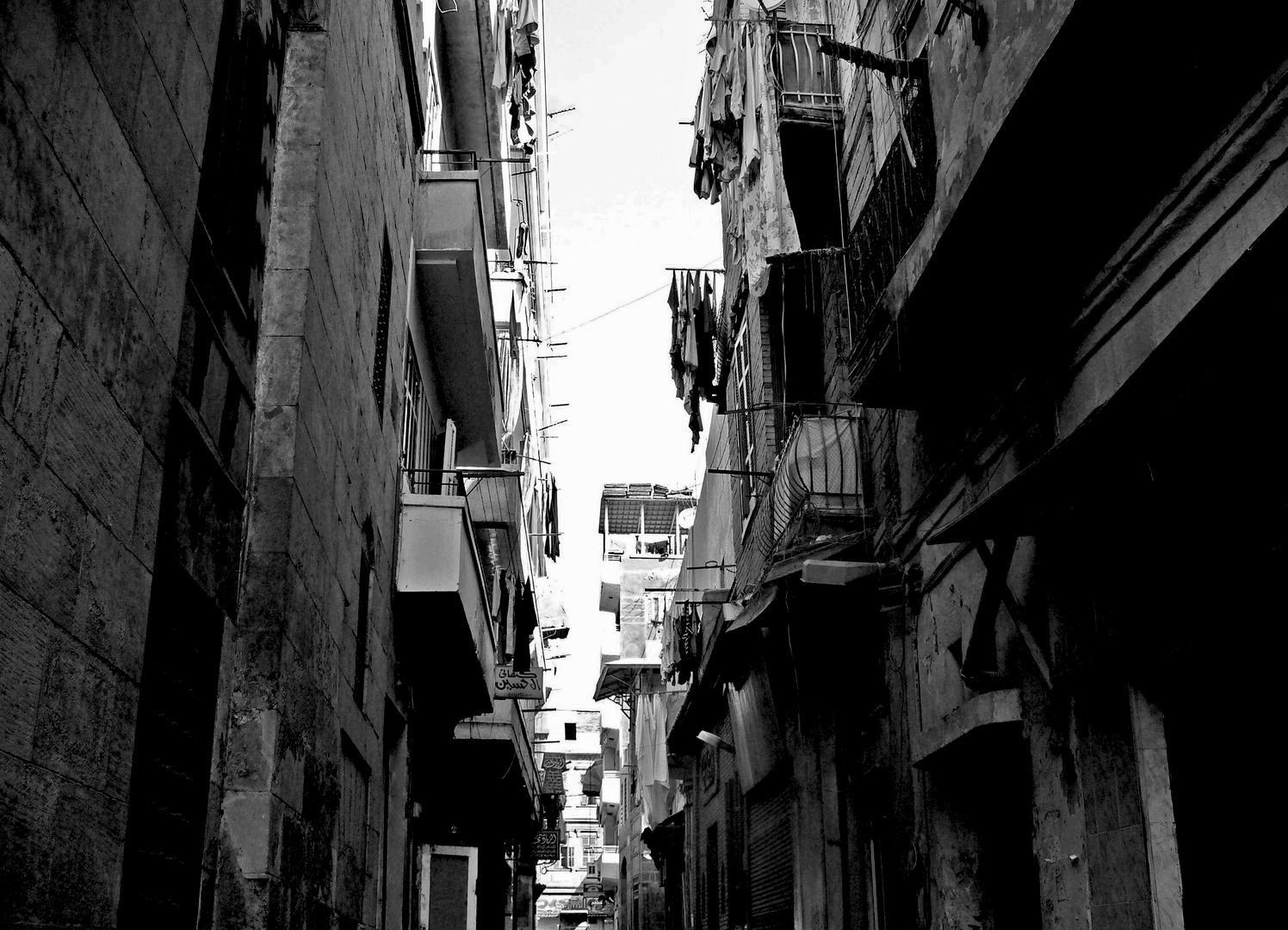 Gasse in Ägypten