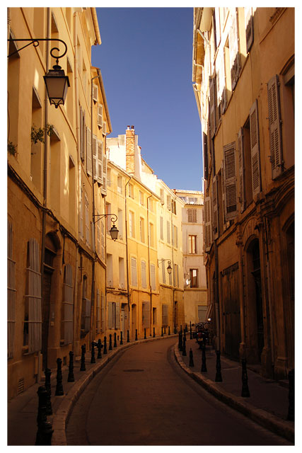 Gasse in Aix-en-Provence