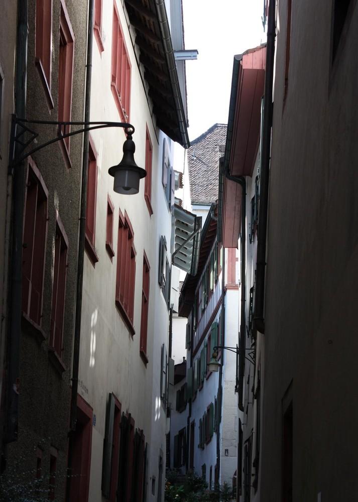 Gasse in Basel