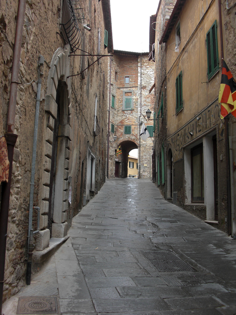 Gasse in Castagneto Carduzzi