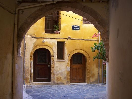 Gasse in Chania
