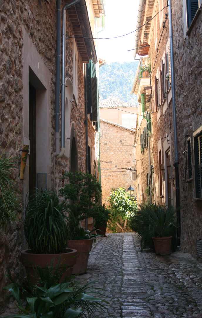 Gasse in Fornalutx II