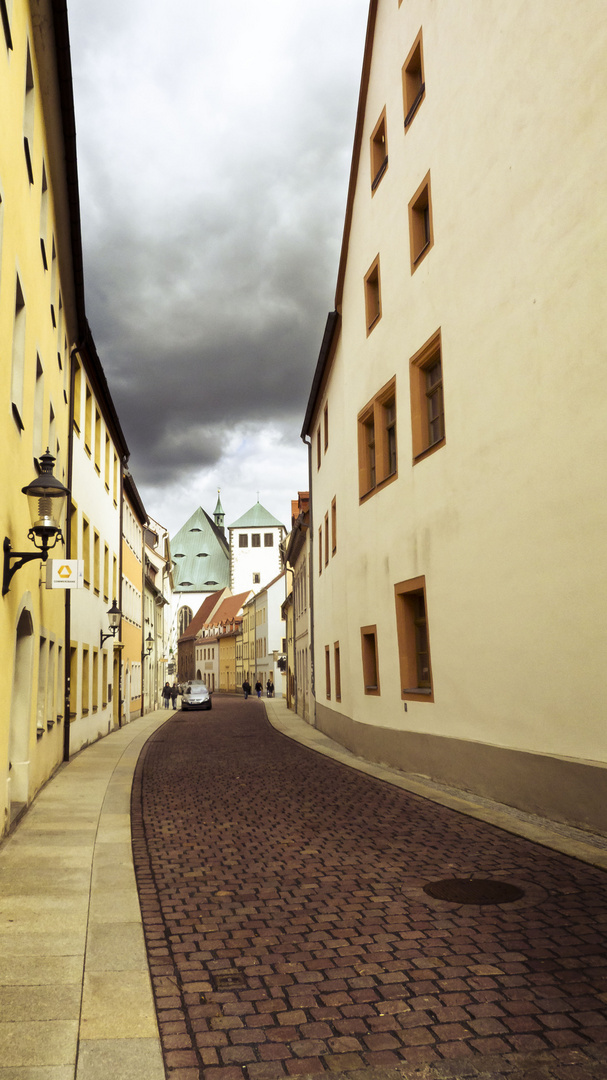 Gasse in Freiberg