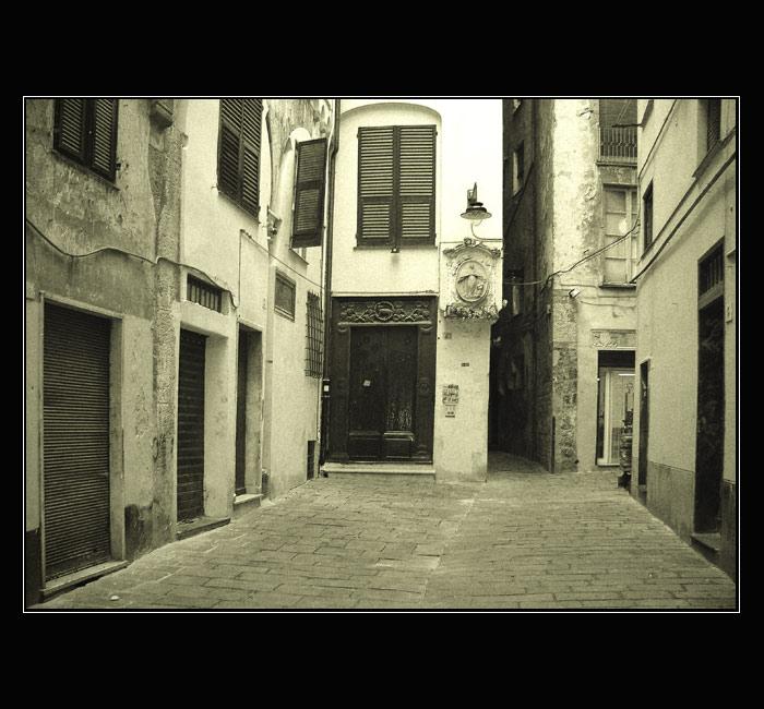 Gasse in Genua