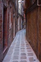 Gasse in Ghetto, Venedig