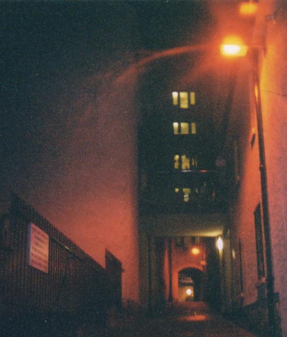 Gasse in Glasgow