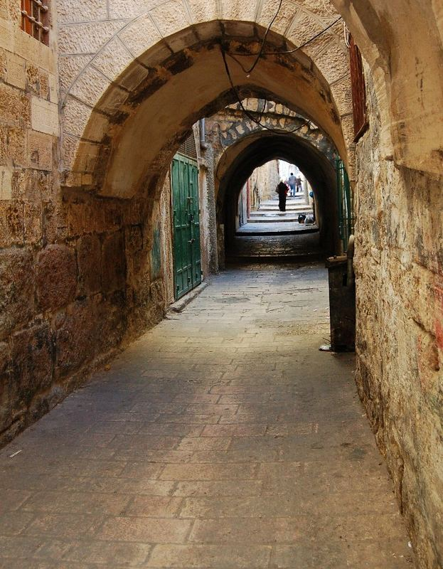 Gasse in Jerusalem