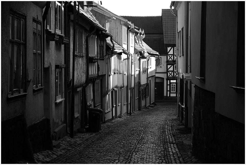 ...Gasse in Mülhausen