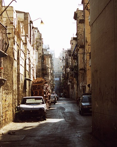 Gasse in Palermo (Sizilien)