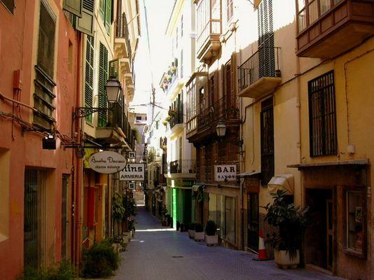 Gasse in Palma