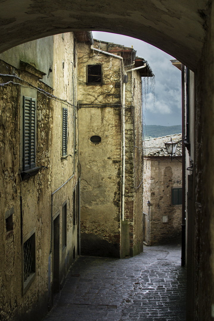 Gasse in Radda in Chianti