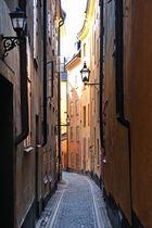 Gasse in Stockholm