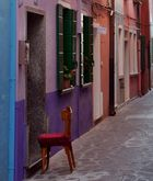 Gasse in Venedig