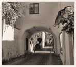 Gasse in Visby / Gotland