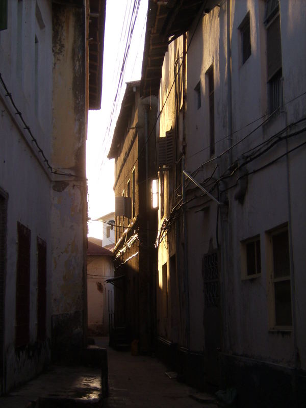gasse stone town