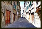 Gasse von Abbadia San Salvatore...