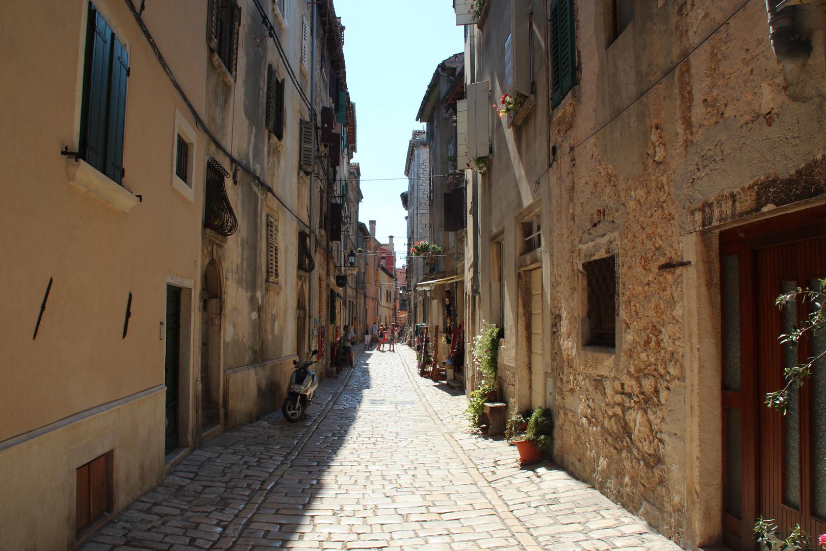 Gasse von Rovinj 2/Kroatien