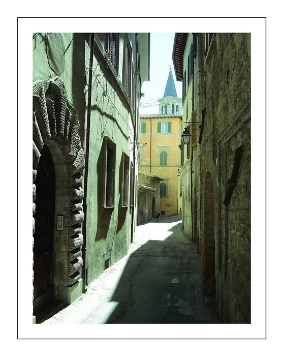Gassen von Spoleto