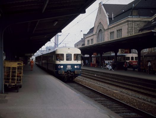 Gastfoto (2) - Bielefeld Hbf 1989