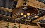 Gastgartenlampe vergangener Zeiten!