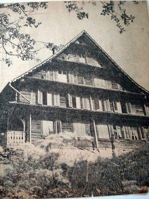 Gasthaus Bahnhof Immensee 1944